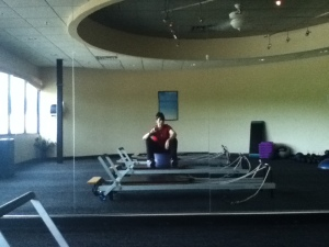 Me messing around at my second home. (The gym)